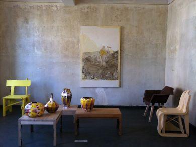 Overzicht tentoonstelling Ampelhaus, oranienbaum