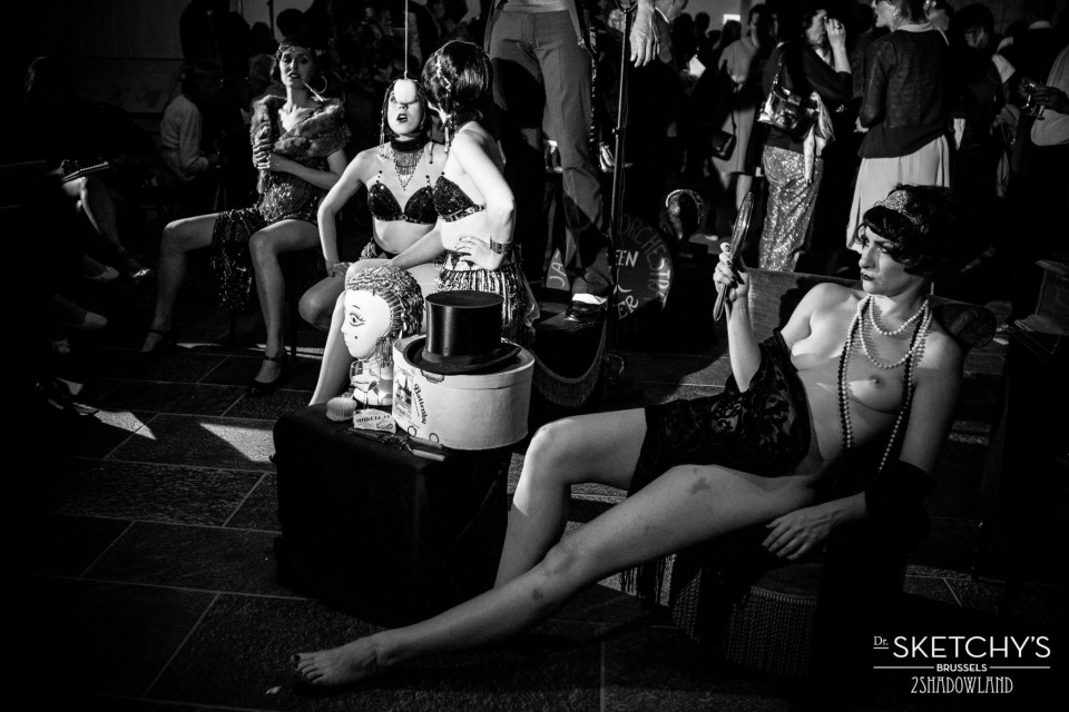 jazzage tableau 2 ©2shadowland bloot klaproos