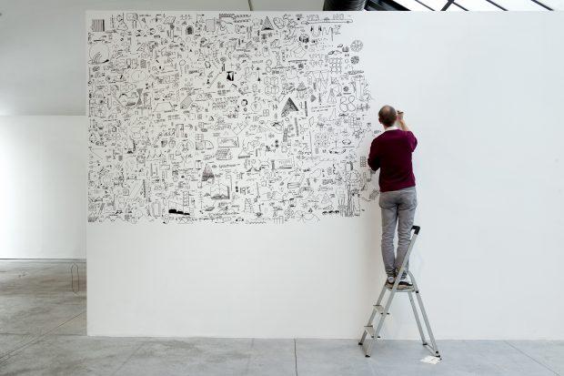 timo van grinsven, tekening, cab, 100% expo
