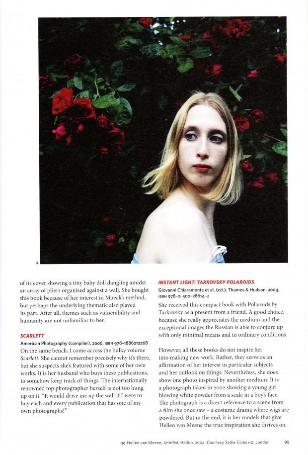 Extra, boekportret, Hellen van Meene, 2010