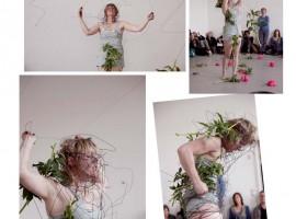 Kirsten Heshusius, 'Je dwaalt door mijn geest houdt je op in mijn ogen', Arti Amsterdam, 2014. Foto: Bart Majoor